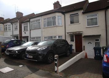 Thumbnail 3 bed terraced house to rent in Wargrave Road, Harrow
