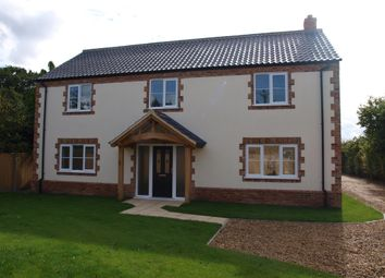 Thumbnail 4 bedroom detached house for sale in Norwich Road, Besthorpe, Attleborough