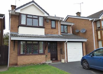 Thumbnail 4 bedroom detached house for sale in Nash Avenue, Stafford