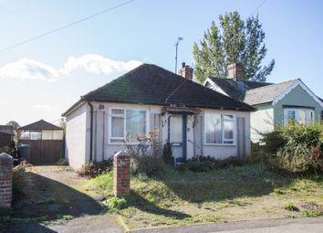 Thumbnail 2 bed detached bungalow for sale in Frambury Lane, Newport, Saffron Walden