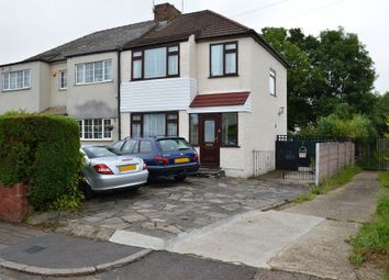 Thumbnail 3 bed semi-detached house for sale in Arnold Avenue East, Enfield