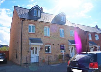 Thumbnail 4 bedroom semi-detached house for sale in Stryd Y Wennol, Ruthin