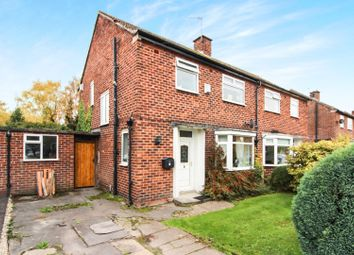 Thumbnail 3 bed semi-detached house for sale in Davenport Avenue, Wilmslow