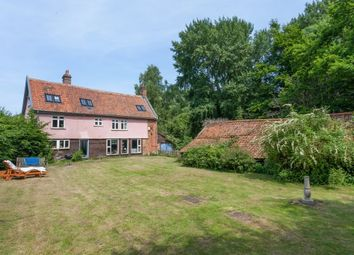 Thumbnail 4 bedroom detached house for sale in The Common, Dunston, Norwich