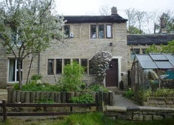 Thumbnail 2 bed cottage for sale in Britannia Road, Milnsbridge, Huddersfield