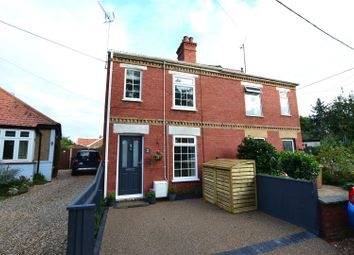 Thumbnail 2 bed semi-detached house for sale in Brook Road, Dersingham, King's Lynn