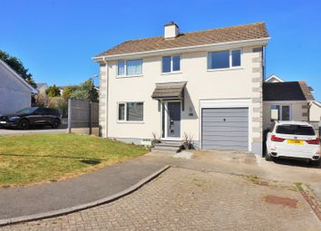 Thumbnail 4 bed detached house for sale in Grove Park Court, Liskeard