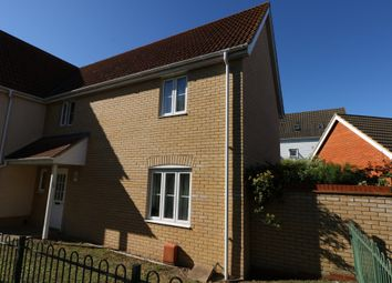 Thumbnail 3 bed semi-detached house to rent in Victory Court, Diss