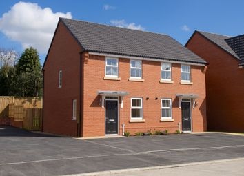 """Thumbnail 2 bedroom terraced house for sale in """"Winton"""" at Sparken Hill, Worksop"""