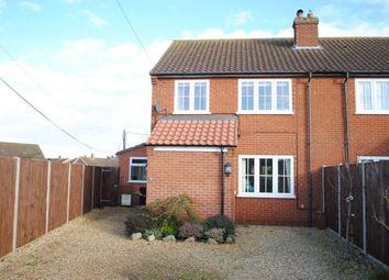 Thumbnail 3 bed semi-detached house to rent in Southgate Lane, Snettisham, King's Lynn