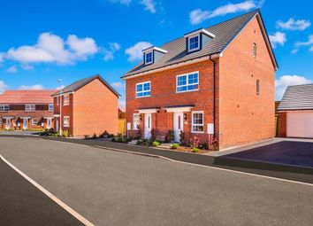 "Thumbnail 4 bed semi-detached house for sale in ""Kingsville"" at Weston Hall Road, Stoke Prior, Bromsgrove"
