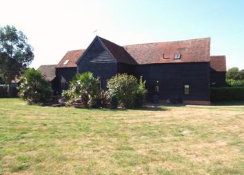 Thumbnail 5 bed barn conversion for sale in Longdell Barn, Weston, Hitchin, Hertfordshire