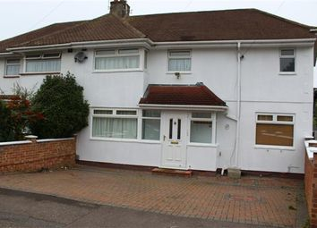 Thumbnail 4 bed semi-detached house to rent in Whitehouse Avenue, Borehamwood