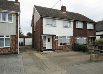 Thumbnail 3 bed semi-detached house for sale in First Avenue, Stanford-Le-Hope, Essex.