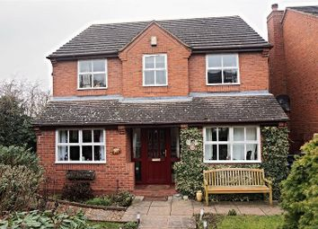 Thumbnail 4 bed detached house for sale in Moor Croft, Rugeley