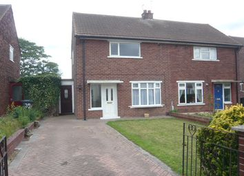 Thumbnail 2 bedroom semi-detached house to rent in Shackleton Road, Claylane, Doncaster, South Yorkshire