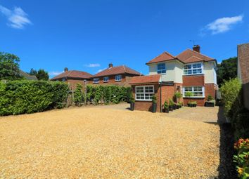 Thumbnail 4 bed detached house for sale in Guildford Road, Lightwater