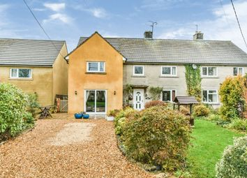 Thumbnail 5 bed semi-detached house for sale in Coronation Close, Christian Malford, Chippenham