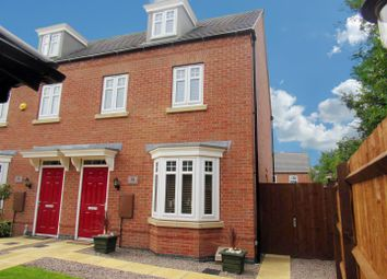 Thumbnail 3 bed semi-detached house for sale in Cottesmore Close, Syston, Leicester