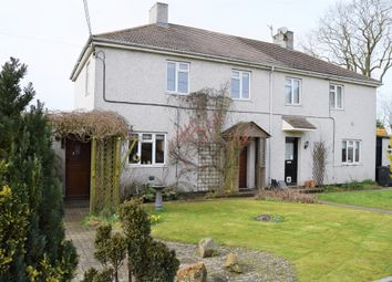 Thumbnail 3 bed semi-detached house for sale in Liddiard Green, Ogbourne St. George, Marlborough