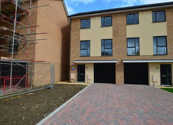 Thumbnail 4 bedroom end terrace house to rent in St Johns Close, Off Thorpe Road, Peterborough