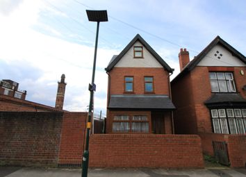 Thumbnail 3 bed detached house to rent in Harold Road, Edgbaston, Birmingham