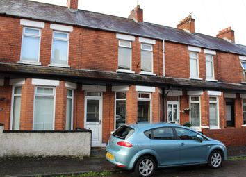 Thumbnail 2 bed terraced house for sale in Hollycroft Avenue, Belfast