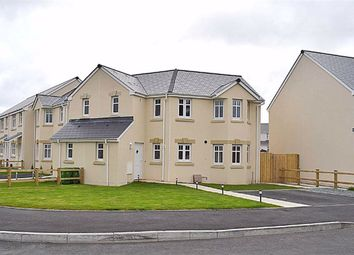 Thumbnail 3 bed end terrace house for sale in Bracken Way, Johnston, Haverfordwest