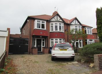 Thumbnail 3 bed semi-detached house for sale in Mountfield Gardens, Kenton, Newcastle Upon Tyne
