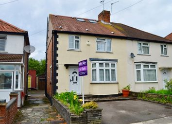 Thumbnail 4 bed semi-detached house for sale in Halsbury Road East, Northolt