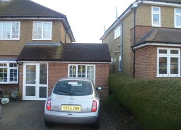 Thumbnail 1 bed flat to rent in Pondfield Crescent, St.Albans