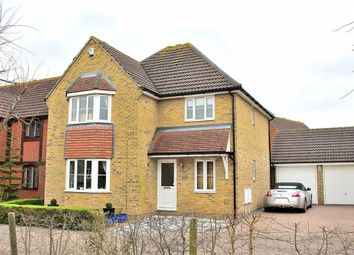 Thumbnail 4 bed detached house for sale in Woodlands Walk, Dunmow