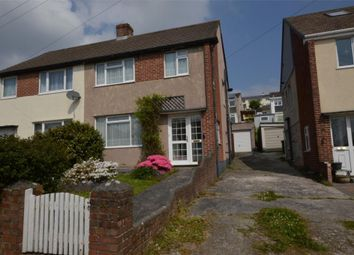 Thumbnail 3 bed semi-detached house for sale in Crossway, Plymouth, Devon