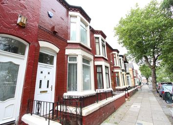 Thumbnail 3 bed town house to rent in Lower Breck Road, Anfield, Liverpool
