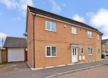 Thumbnail 4 bed semi-detached house for sale in Chorister Crescent, Hoo, Rochester