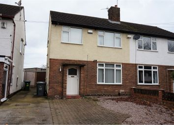 Thumbnail 3 bed semi-detached house for sale in Queenswood Avenue, Bebington