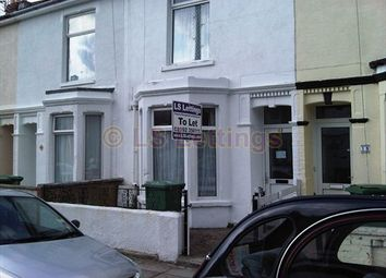 Thumbnail 4 bed terraced house to rent in Northcote Road, Portsmouth