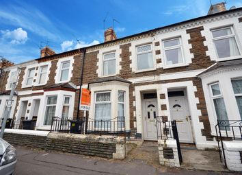 Thumbnail 3 bed terraced house for sale in Angus Street, Roath, Cardiff