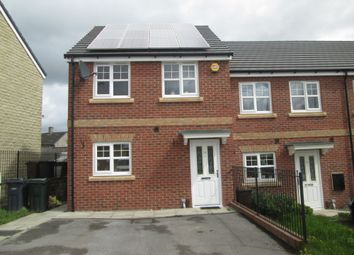 Thumbnail 3 bed town house for sale in Fallowfield Gardens, Bierley, West Yorkshire