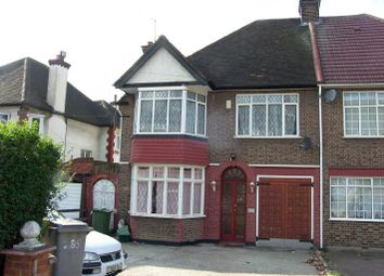 Thumbnail 3 bedroom semi-detached house to rent in Preston Road, Harrow