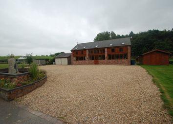 Thumbnail 4 bed barn conversion to rent in Park Farms Barns, Weston Road, Stafford