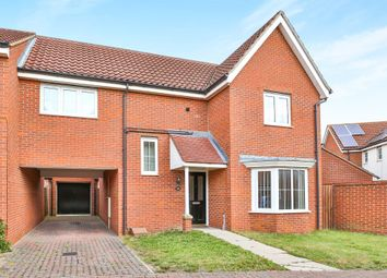 Thumbnail 3 bed link-detached house for sale in Mountbatten Drive, Sprowston, Norwich