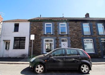 Thumbnail 3 bed terraced house for sale in Middle Street, Trallwn, Pontypridd