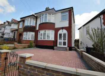 Thumbnail 3 bed semi-detached house for sale in Bengarth Drive, Harrow