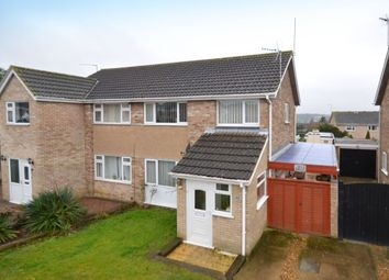 Thumbnail 3 bed semi-detached house for sale in St. Anthonys Road, Kettering