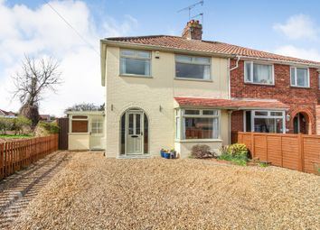 Thumbnail 3 bed semi-detached house for sale in Thor Road, Thorpe St. Andrew, Norwich