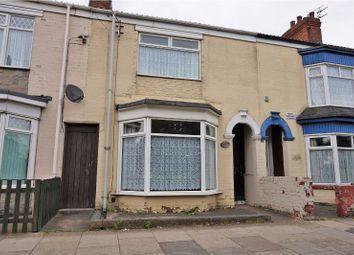 Thumbnail 3 bed terraced house for sale in Rosmead Street, Hull