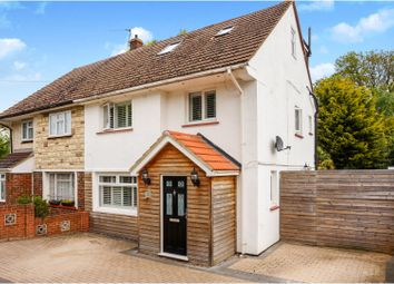 Thumbnail 4 bed semi-detached house for sale in Dargets Road, Chatham