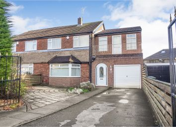Thumbnail 4 bed semi-detached house for sale in Red Hall Way, Leeds