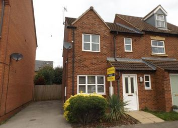 Thumbnail 3 bedroom semi-detached house for sale in Haddonian Road, Market Harborough, Leicestershire